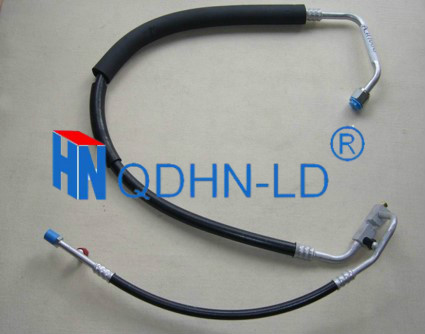 DOT approved power steering return hose assembly