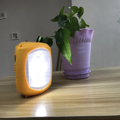 solar rechargeable camping lantern LED