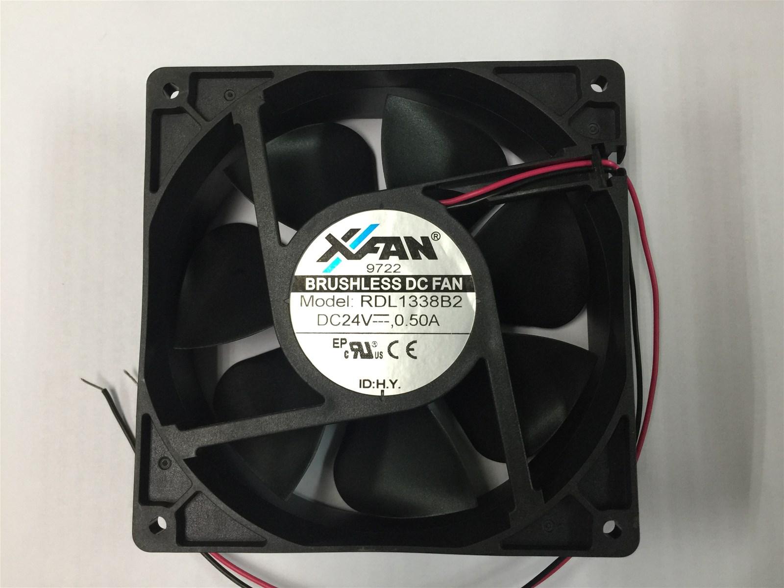 DC Axial Fan 127x127x38mm 24V 050A