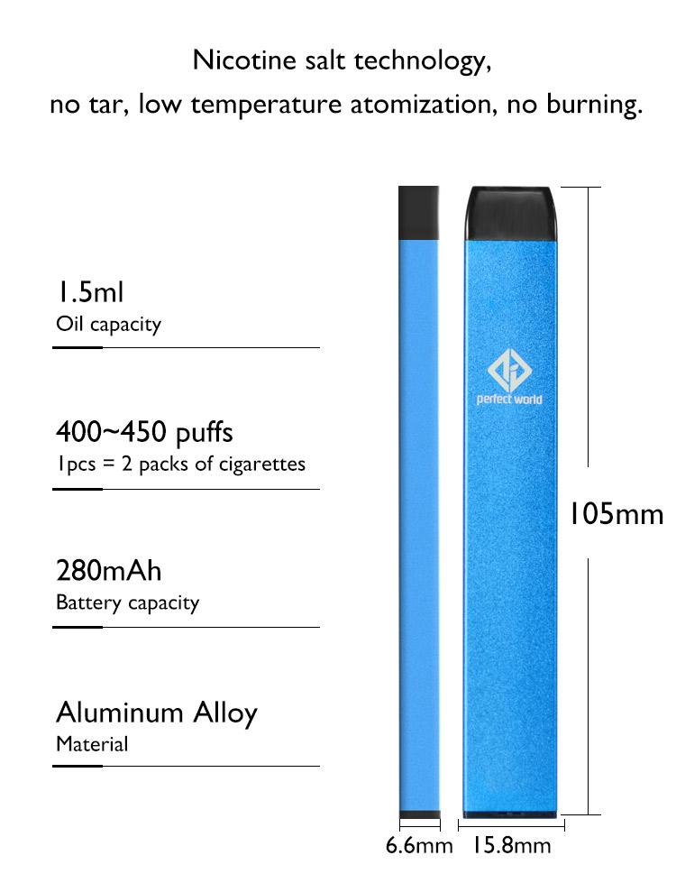 Disposable Electronic Cigarette eCigarette e Cigarette Vape Pen Battery Wholesale Disposable Vape Pen