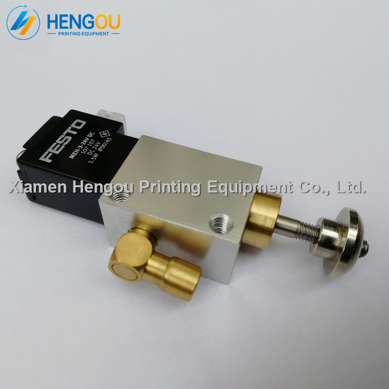1 Piece Front Lay Solenoid valve AVLM820SA 611841181 for Heidelberg printing Cylinder Valve unit