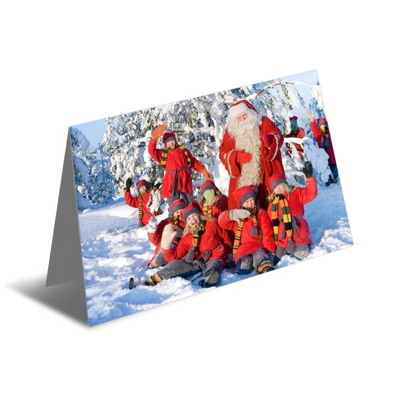 Lenticular printing 3D greeting card Thank you card Christmas card
