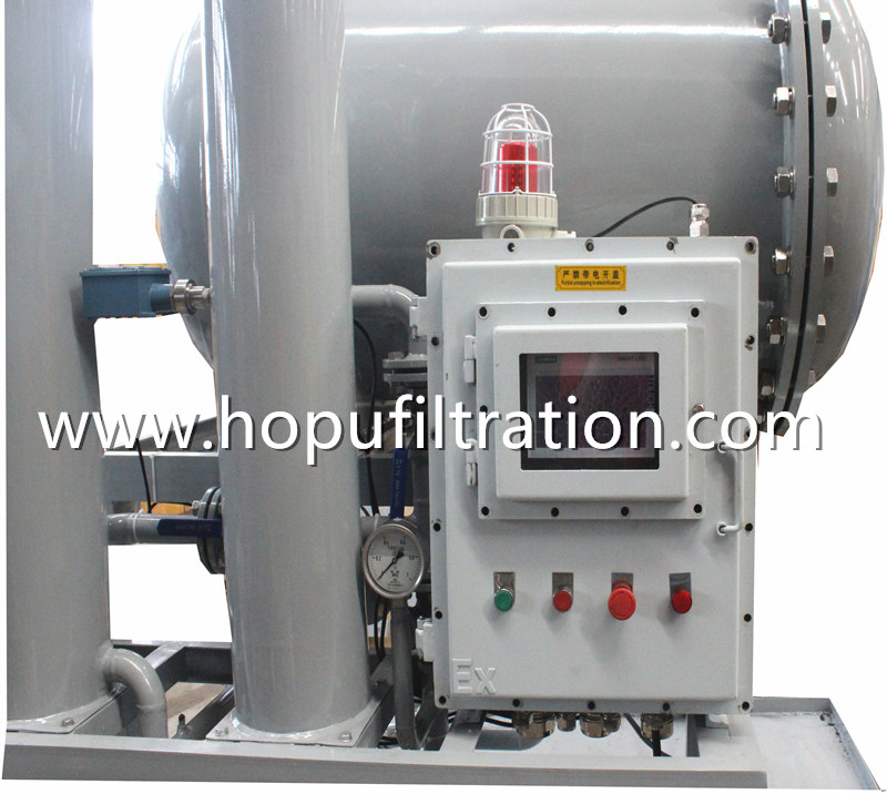 Explosion Proof Light Fuel Filtration Ship Diesel Oil Purifier Gasoline Oil Water Separator coalescence dehydration
