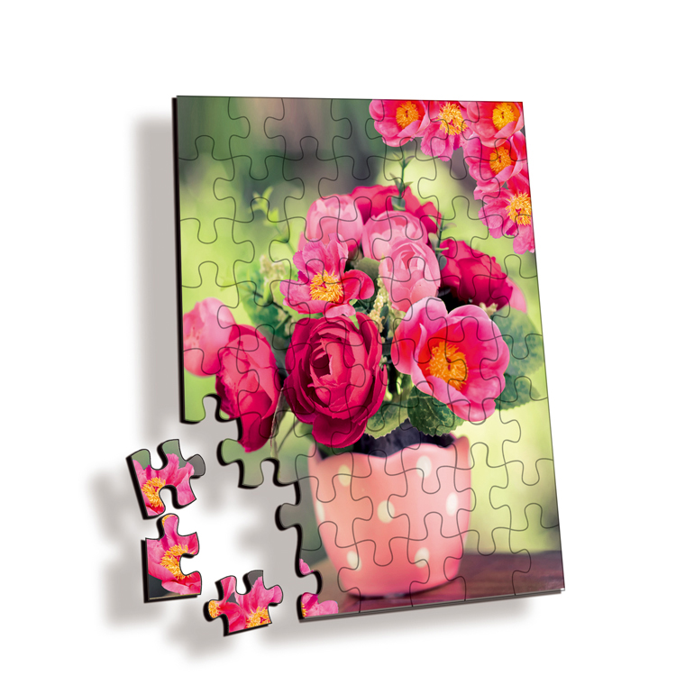 Factory supply 3D hologram puzzle lenticular printing