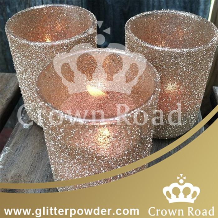 Hexagon Glitter Powder for Candle Bottle