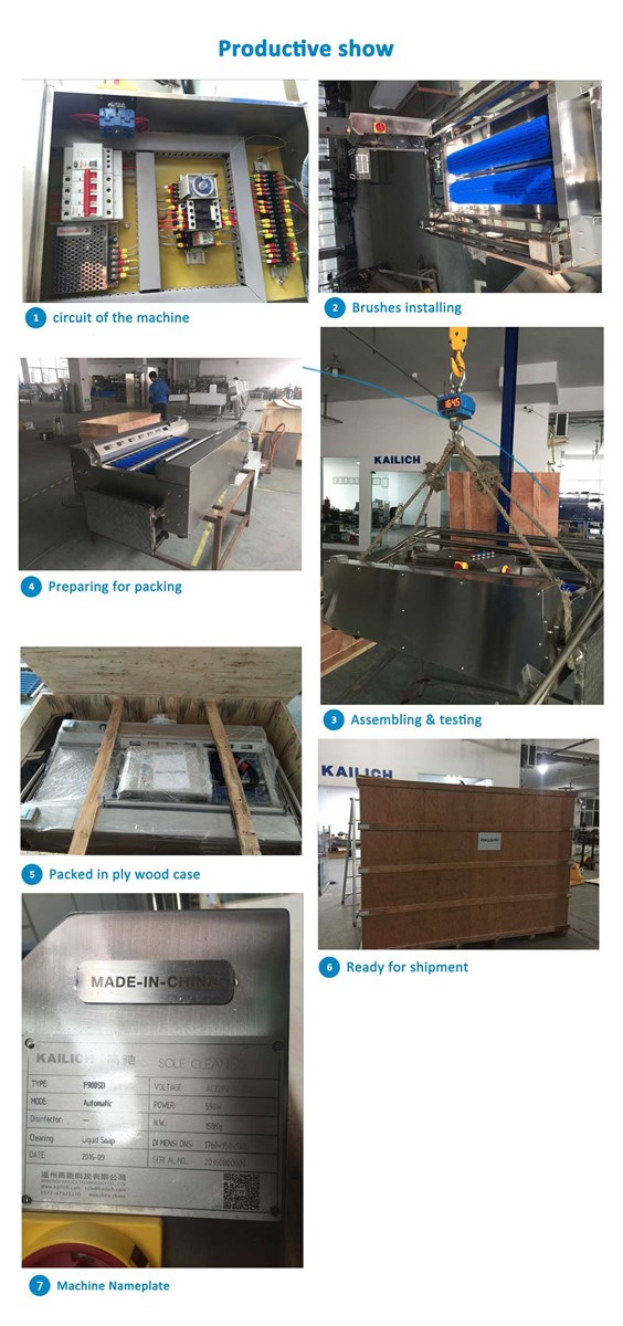 HWD140 Forced hand washing disinfection Machinewall mounting
