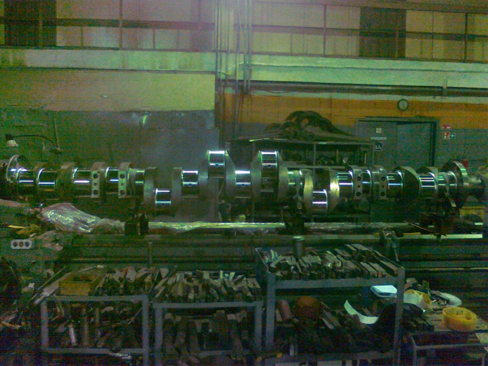 Crankshaft for MAN BW 8L 3240