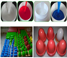 Low Shrinkage High Temperature Resistance Pad Printing RTV2 Silicone Rubber