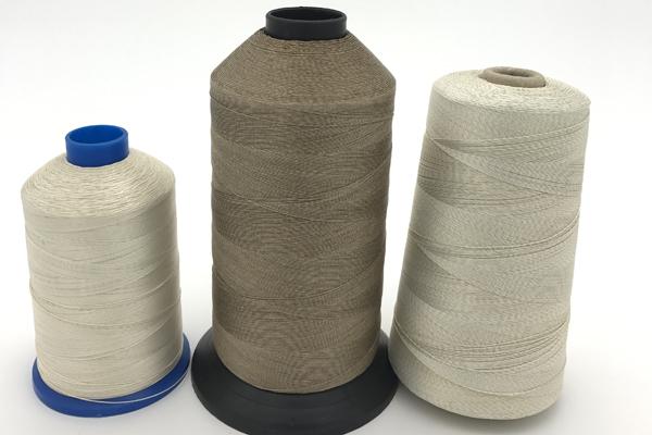 PTFE Coated Fiberglass Thread Teflon coated fiberglass sewing thread High temperature resistance