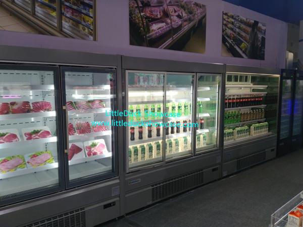 Supermarket Food Display Showcase