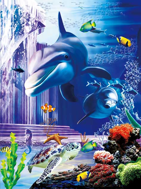 Lenticular 3D printing picture for wall art decor for wholesale