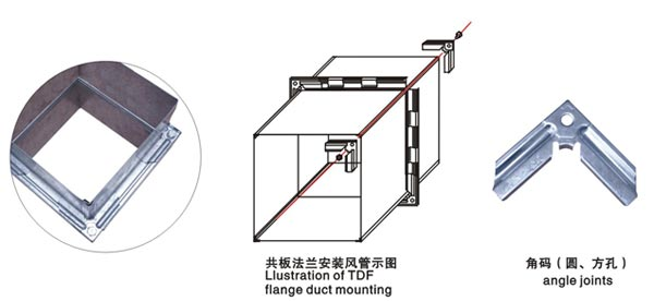 TDF Flange Forming Machine Flange forming machine flange machine