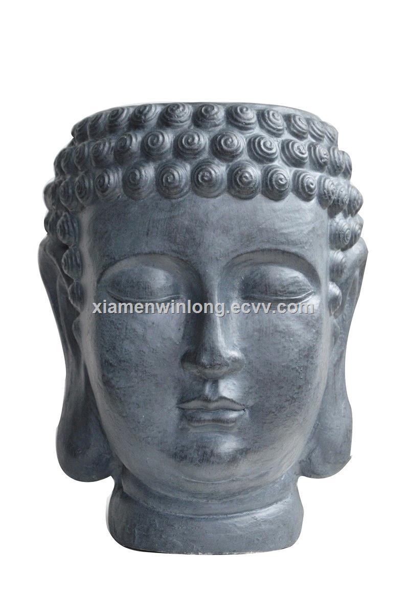 buddha head planter flower pot for sales