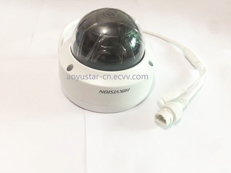 Stock in 24 hours delivery Hikvision original H265 4 MP IR Fixed mini dome Dome outdoor Network Camera DS2CD2143G0I