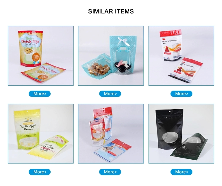 Stand up Pouch Food Packaging Bags