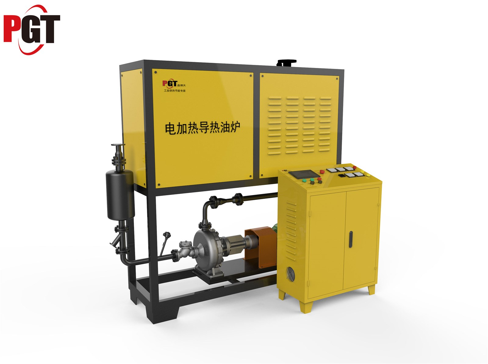 Industrial electric thermal oil heater