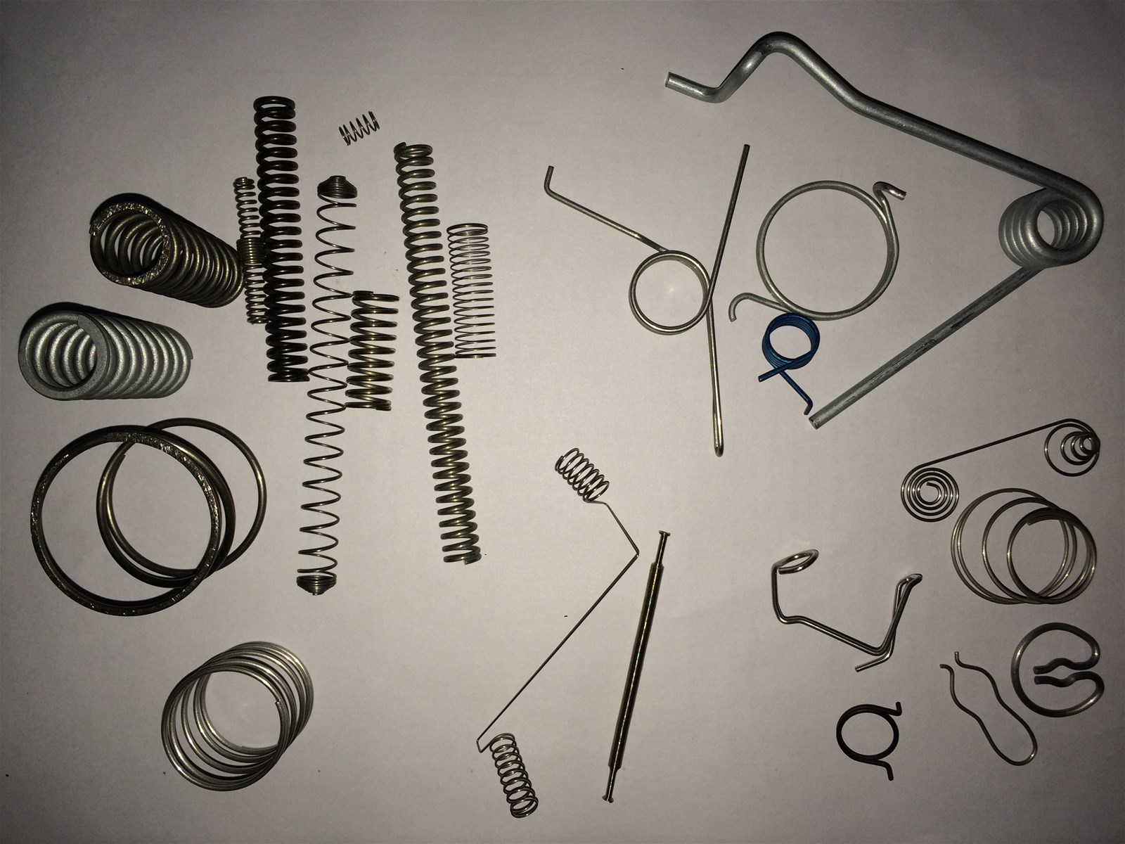 all customized springs including compression extension torsion etc