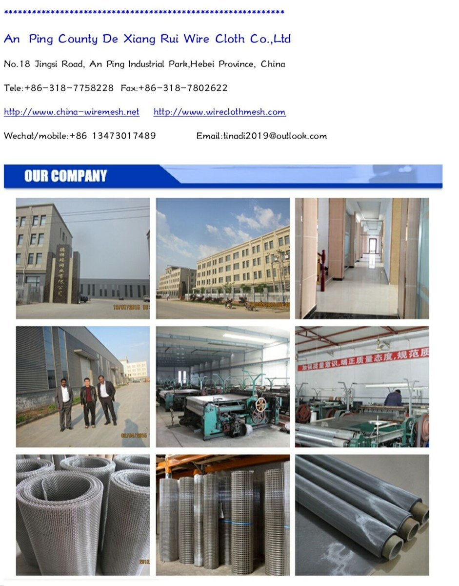 Stainless Steel Wire Mesh Crimped Wire Chain Link Gabion Mesh Dutch Woven Nickwire