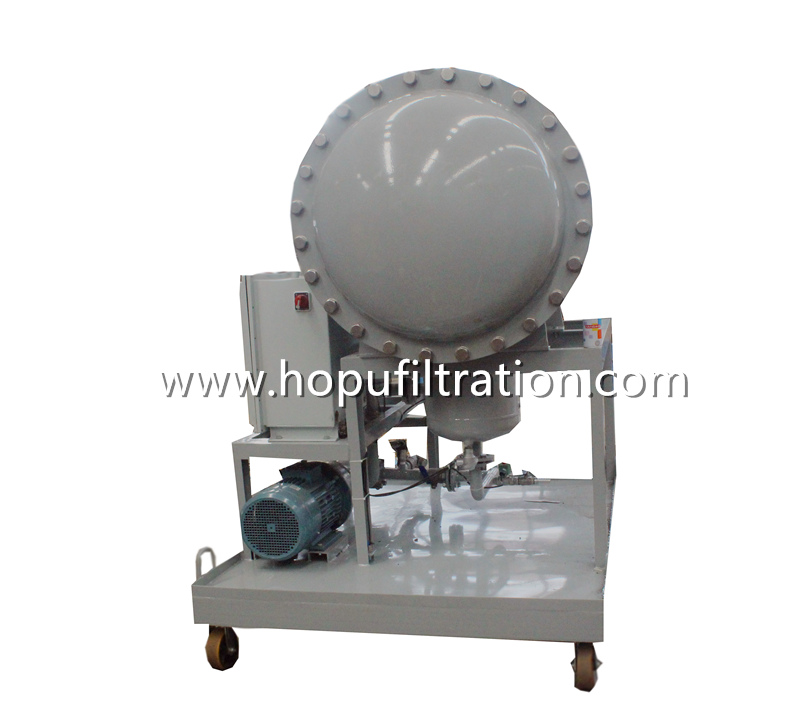 CoalescenceSeparation Fuel Oil Filtration PlantDiesel Oil PurifierDiesel Moisture Dewatering Machine