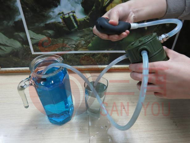 Soldier Water Purifier Outdoor Portable Filter Emergency Rescue Water Purifier SAN YOU First Aid