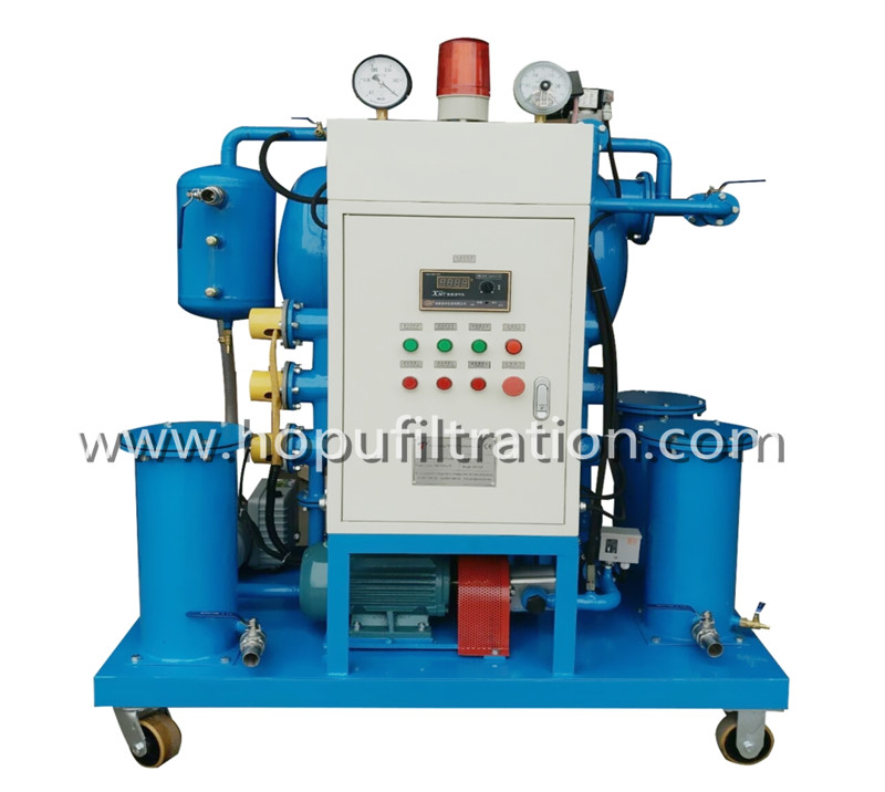 Singlestage Transformer Oil Purifier machine vacuum insulation oil treatment and filtration plant