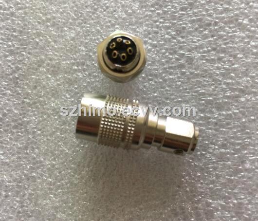 10 12 Pin Push Pull SelfLocking Ip50 Circular HRS jack Connector