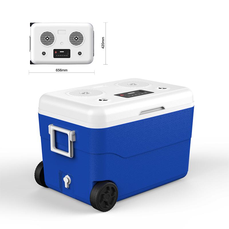 Mulitfunction 65 Hifi Stereo Bluetooth Speaker Outdoor Cooler Box Keep Fresh Enjoy Music Anywhere