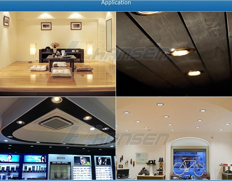 Dimmable 7W12W18W Recessed LED Ceiling Downlight for Hotel LN7723H