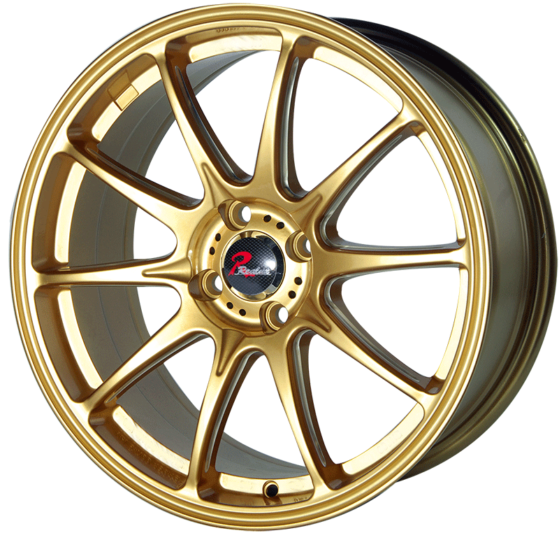 17 inch gold face aluminum alloy wheels JH0414 of Jihoo Wheels