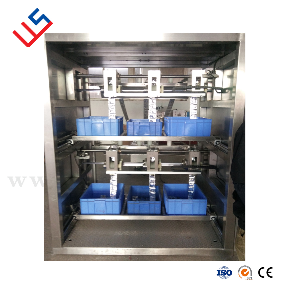 Multiline Pouch layer Multilane sachet collator Multiline tape stacker