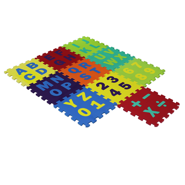 QT MAT EVA Interlocking Soft Foam Floor Mats Carpet Play Tile