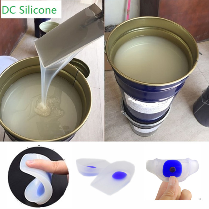 DCA Series RTV2 Addition Cure liquid platinum cure Silicone Rubber with high quality and good price