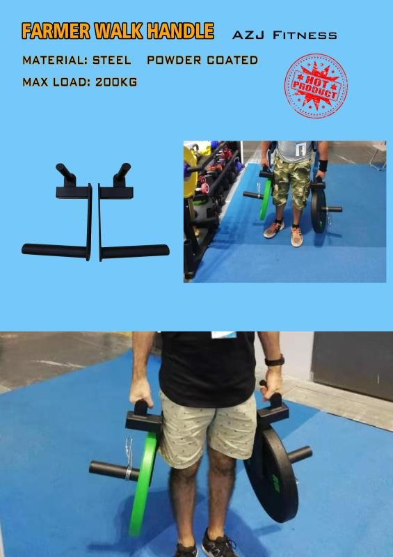 China Manufacture Wholesale Gym Fitness Farmer Walk Handle