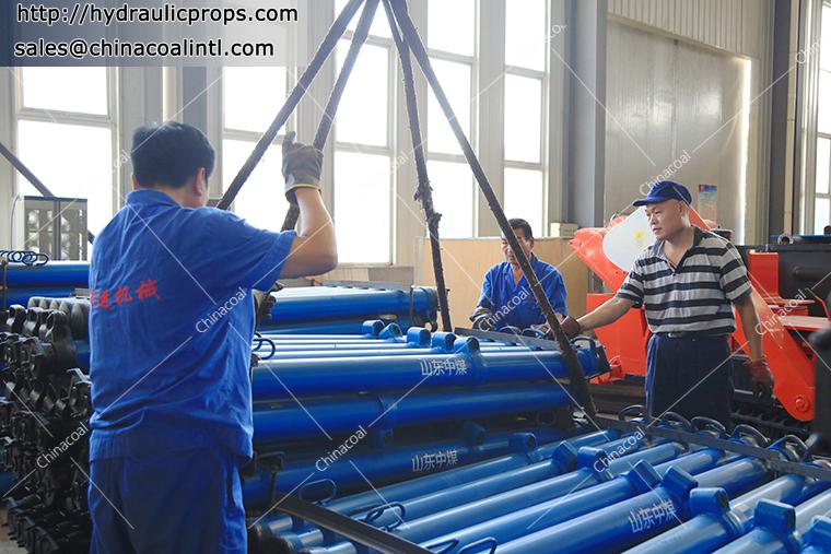 Maintenance Process of Suspension Hydraulic Prop