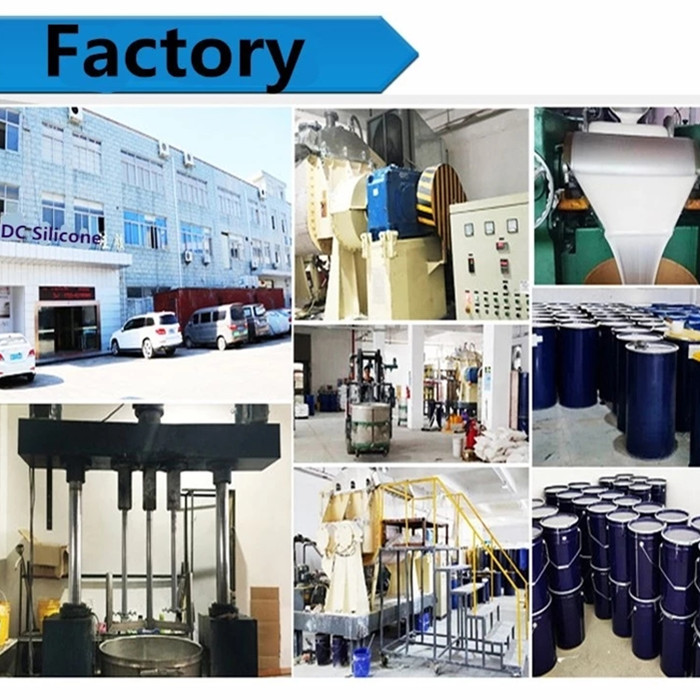 Condensation Cure DCC Series RTV2 Mold Making Silicone Rubber Tin Catalyst Liquid Silicone for Molding