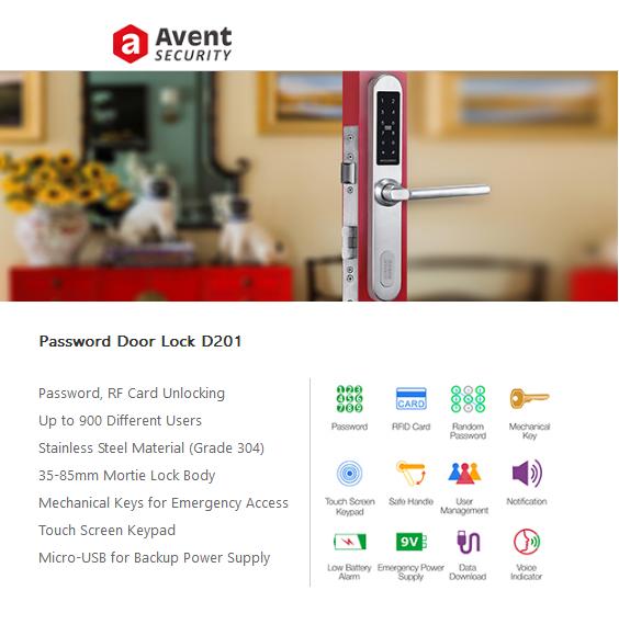 Avent Security Digital Door Lock Supplier