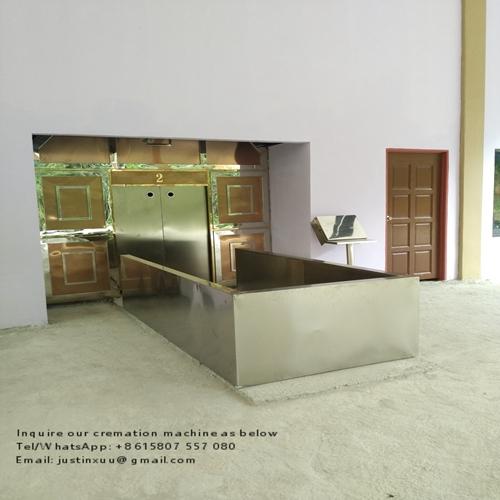 Crematorium machine automatic for human no sell