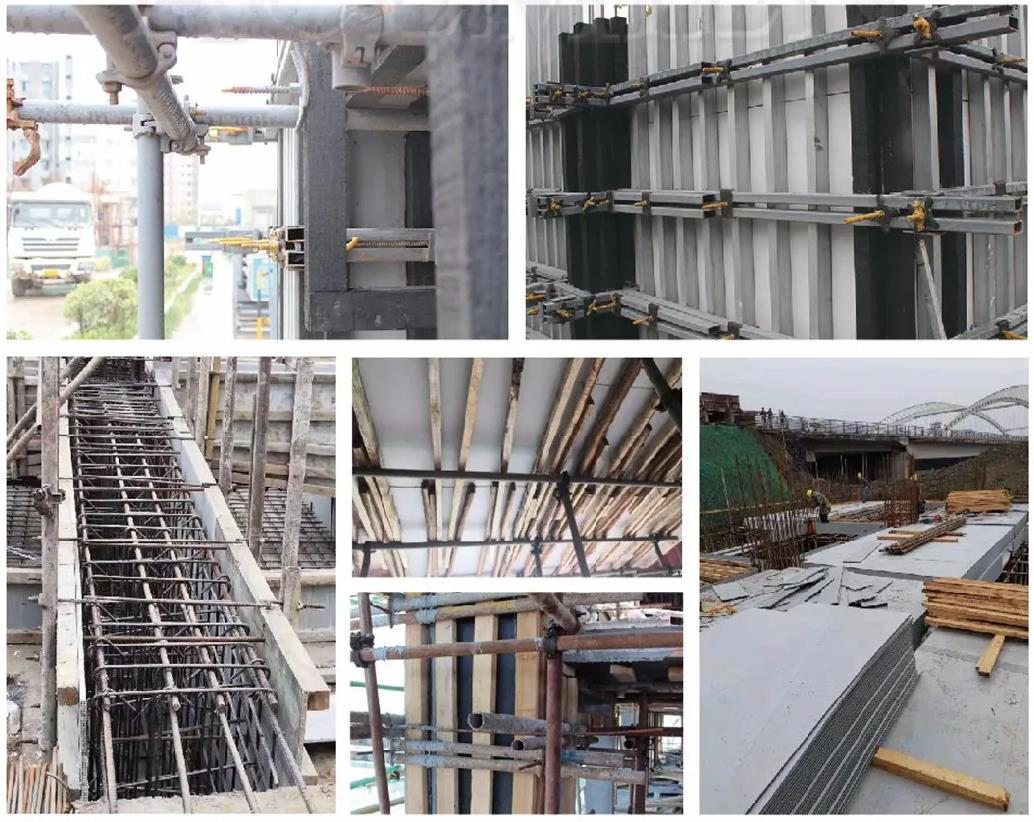 High Strength Reuse Hollow Plastic Building Project Formwork