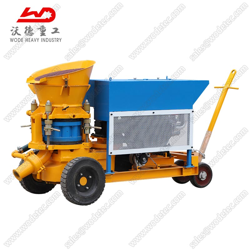 China Factory price dry mix concrete spraying shotcrete machine sale