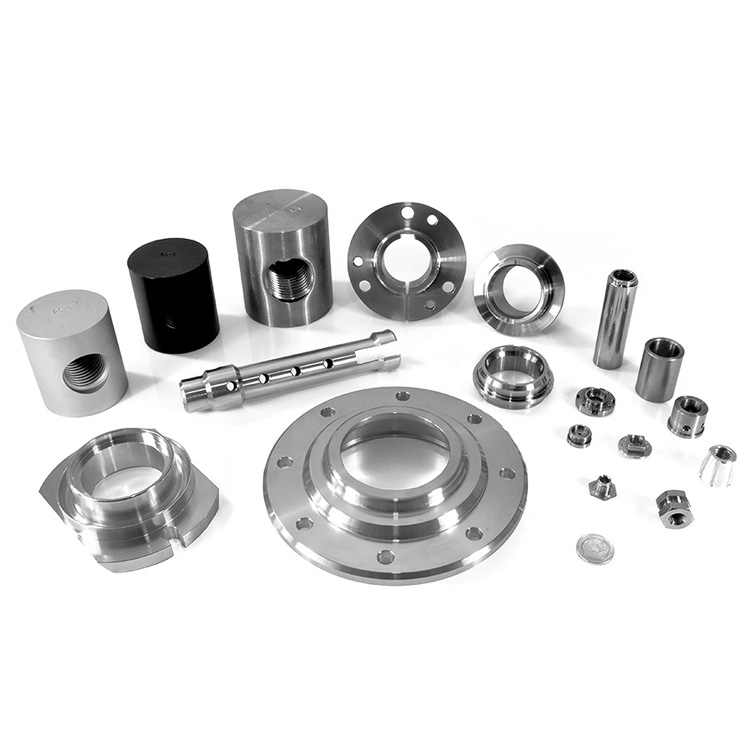 Cnc Machine And Lathe Center Milling Machining Aluminum Mini Part Brass Stainless Steel Turning