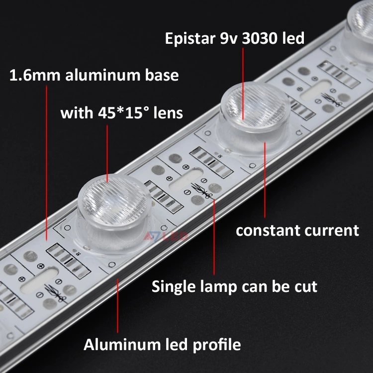18leds led bar strip constant current edge lighting lightbox led light bar for fabric light box frame