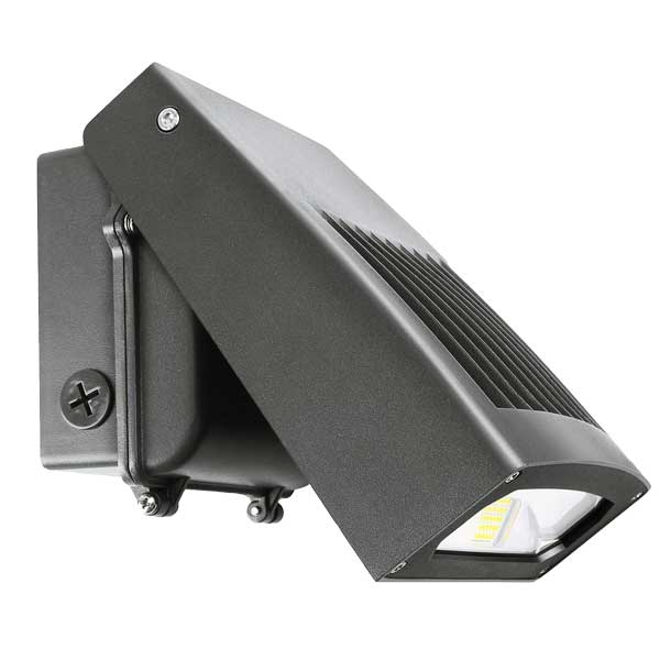 Outdoor LED Wall Pack Lights Rotatable 25100w 100277vac 5 yrs warranty