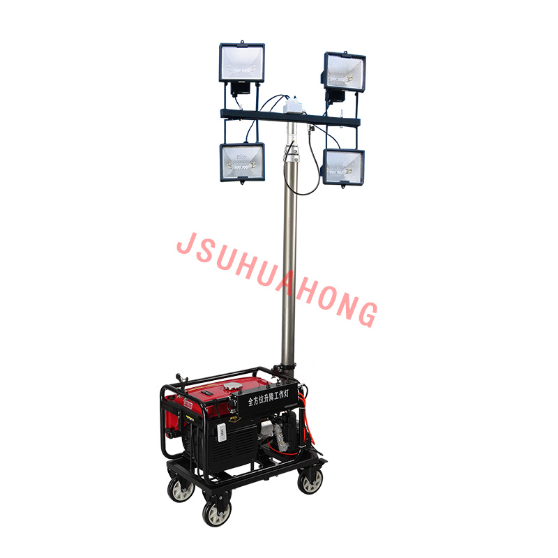 Remote control automatic lifting floodlight 4500W