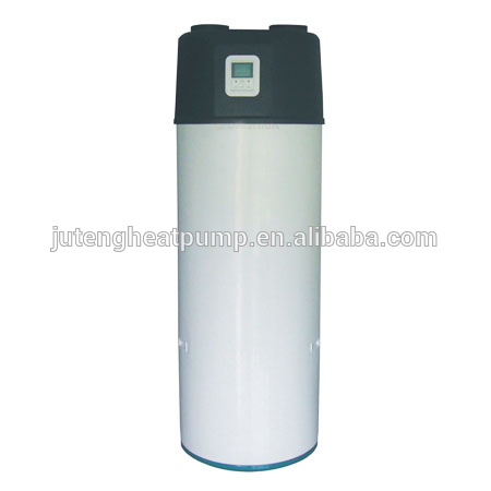Air source Sanitary 2kW All in one Domestic R134a Hot Water high COP Air to water 100500L Heat Pump Juteng with certifi