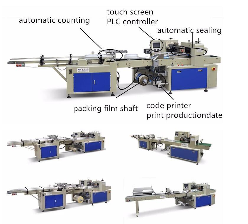 automatic cup counting packing machine