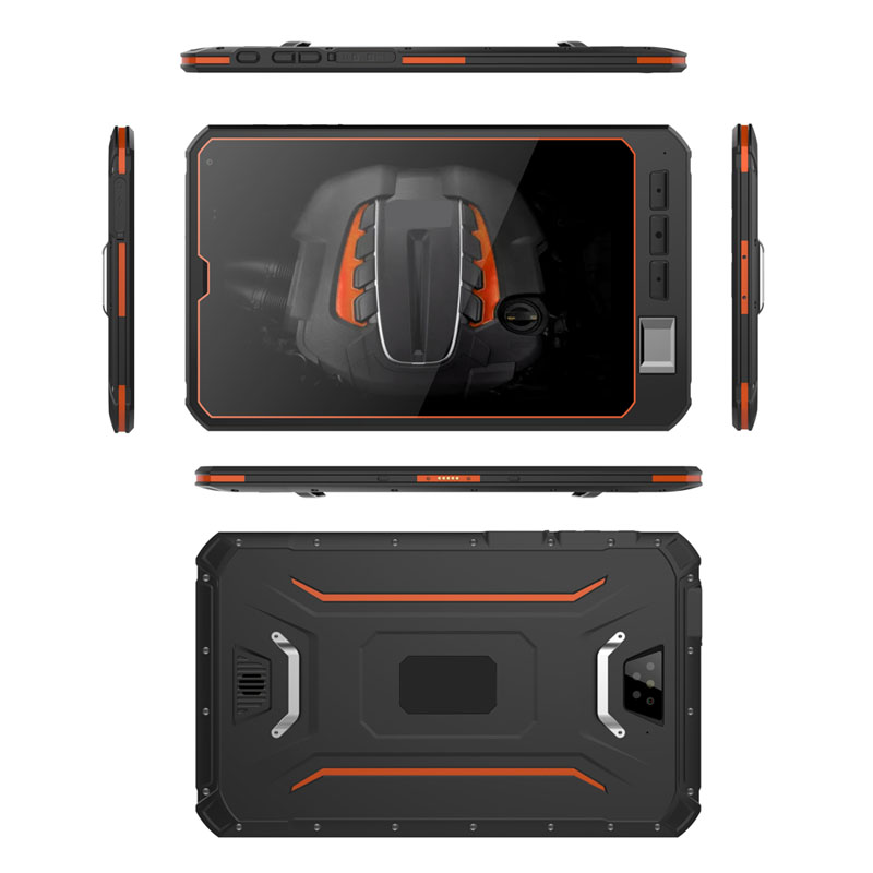 Cheapest Factory Android 90 rugged tablet pc UHF RFID Waterproof computer shockproof notebook with Infrared scann