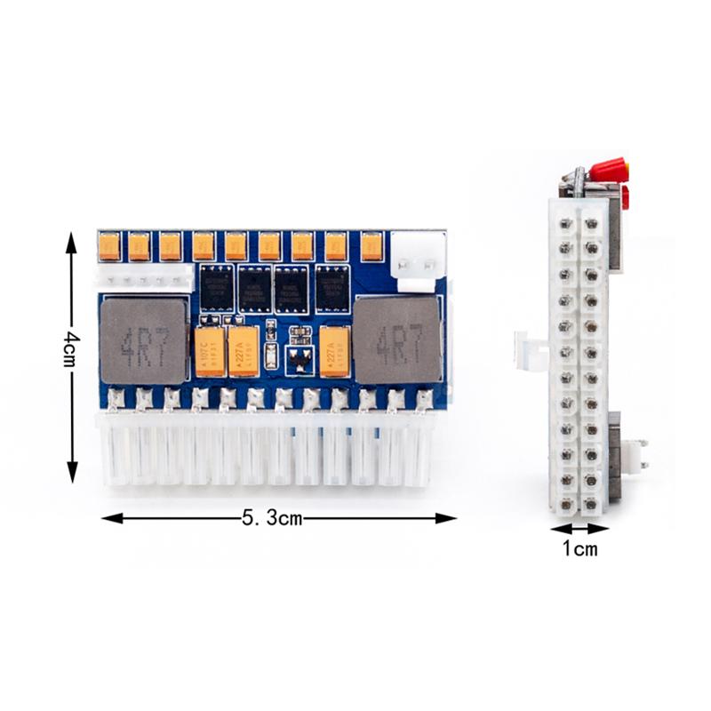 RGeek DC 12V 24Pin 250W PicoPSU ATX ITX Power Supply Module