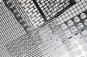 304 Stainless Steel Perforated metals