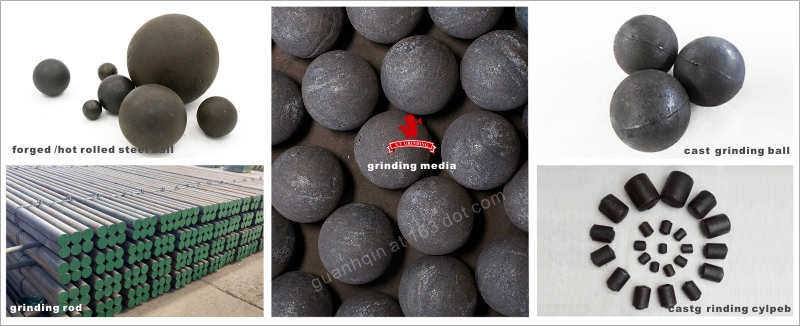 Quartz Silicon Sand Factory Chrome Steel Ball Forged Steel Ball Grinding Steel Balls