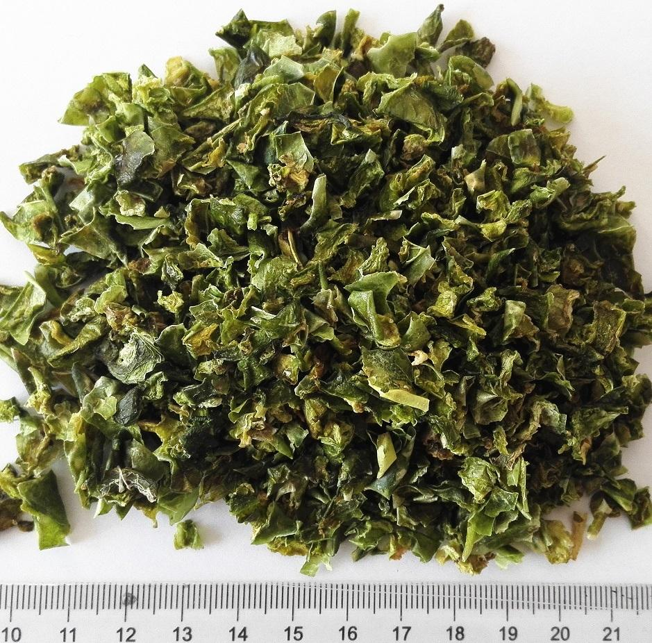 Air Dried Green Bell Pepper 99 mm dried sweet pepper flakes